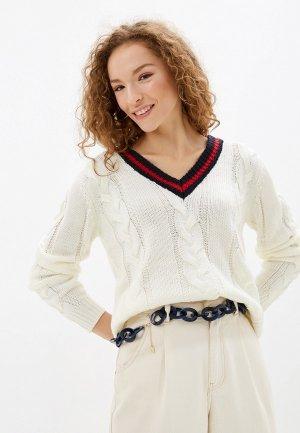 Пуловер Top Secret. Цвет: белый