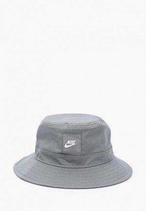 Панама Nike Y NK BUCKET CORE. Цвет: серый