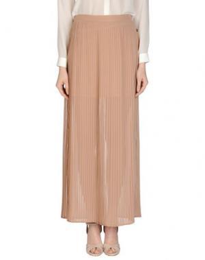 Длинная юбка DEPT. Цвет: песочный