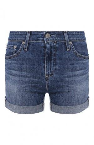 Джинсовые шорты Ag. Цвет: голубой