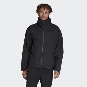 Дождевик Terrex MYSHELTER GORE-TEX adidas. Цвет: черный