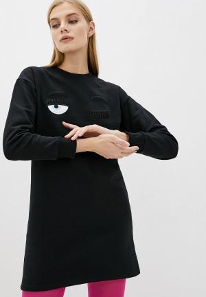 Платье Chiara Ferragni Collection. Цвет: черный