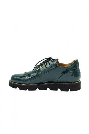 Туфли Giovanni Fabiani. Цвет: изумрудный, зеленый
