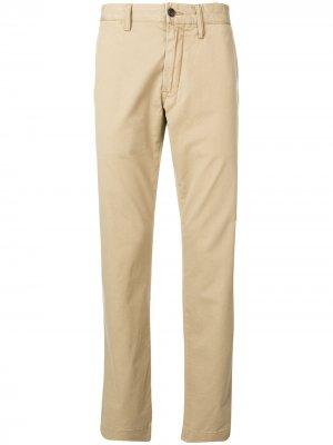 Классические брюки чинос Polo Ralph Lauren. Цвет: нейтральные цвета