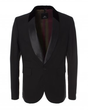 Пиджак TU0562/1157 52 черный TOM REBL. Цвет: черный