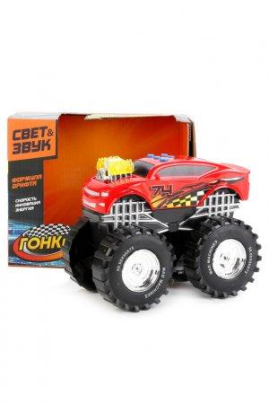 Машина гоночная на батарейках Играем вместе. Цвет: красный