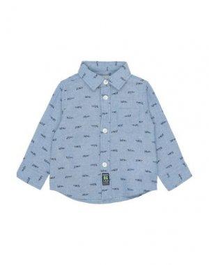 Pубашка iDO by MINICONF. Цвет: пастельно-синий