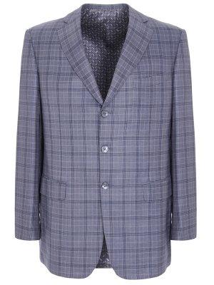 Пиджак из шерсти и шелка ZILLI