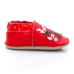 Ботиночки Rudolfunny ROBEEZ. Цвет: красный
