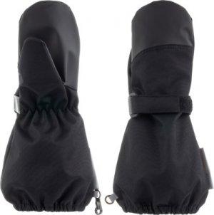 Варежки для мальчиков Amani, размер 5 LASSIE. Цвет: черный