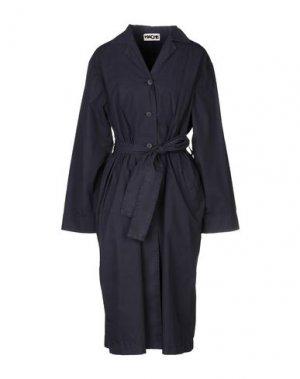 Легкое пальто HACHE. Цвет: темно-синий
