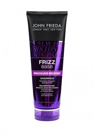 Шампунь John Frieda Frizz Ease MIRACULOUS RECOVERY для интенсивного ухода за непослушными волосами 250 мл. Цвет: прозрачный