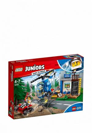 Конструктор Juniors LEGO Погоня горной полиции 10751. Цвет: разноцветный