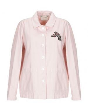 Куртка MOMONÍ. Цвет: светло-розовый