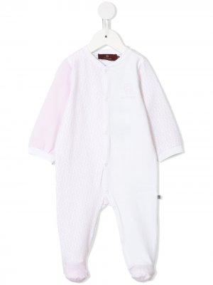 Пижама с логотипом Aigner Kids. Цвет: розовый