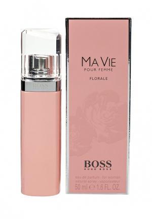Парфюмерная вода Hugo Boss Ma Vie Florale, 50 мл. Цвет: прозрачный