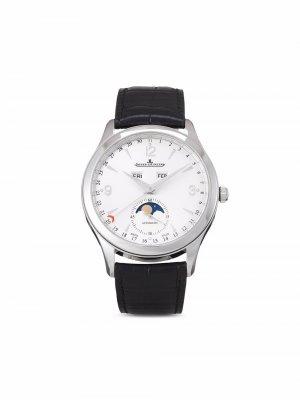Наручные часы Master Calendar pre-owned 39 мм 2018-го года Jaeger-LeCoultre. Цвет: серебристый
