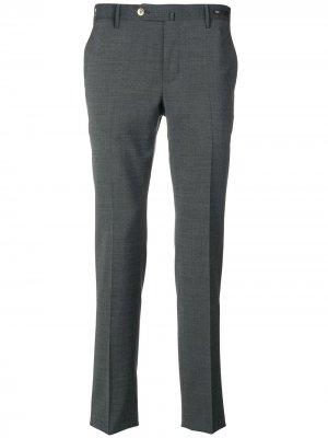 Классические строгие брюки Pt01. Цвет: серый