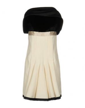 Короткое платье 6267. Цвет: слоновая кость