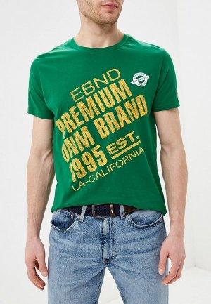Футболка E-Bound. Цвет: зеленый