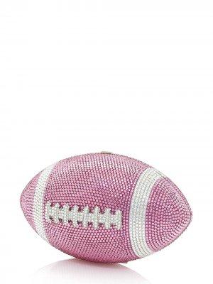 Football Ball clutch bag Judith Leiber. Цвет: pink