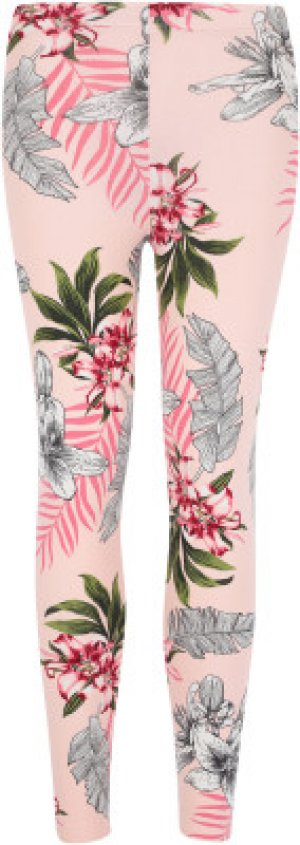 Легинсы для девочек , размер 110 FILA. Цвет: розовый
