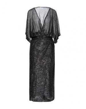 Платье длиной 3/4 IRO. Цвет: черный
