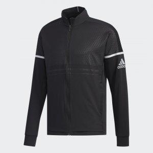 Куртка для тенниса Knit Performance adidas. Цвет: черный