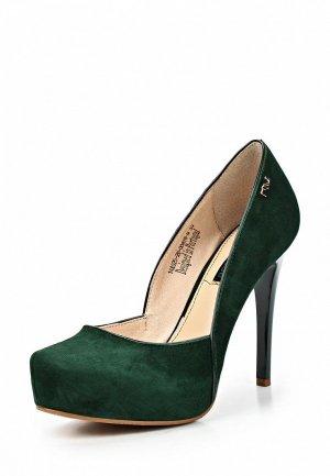 Туфли Clotilde SI293AWCQK04. Цвет: зеленый