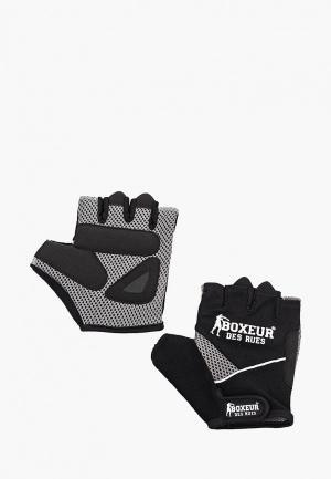 Перчатки для фитнеса Boxeur Des Rues FITNESS. Цвет: черный