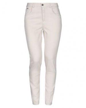 Джинсовые брюки MICHAEL COAL. Цвет: светло-розовый