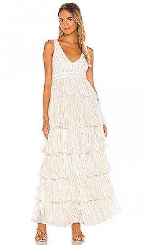Платье tasha NBD. Цвет: белый