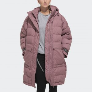 Утепленная куртка-бомбер Athletics Long by Stella McCartney adidas. Цвет: none