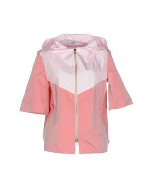 Куртка AU JOUR LE. Цвет: пастельно-розовый