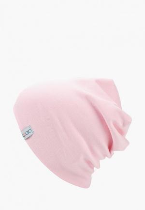 Шапка Logro kids. Цвет: розовый