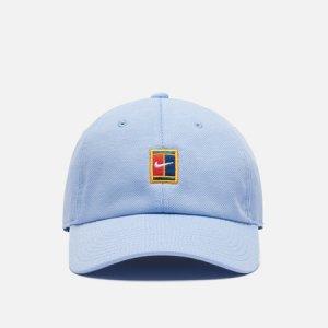 Кепка H86 Court Logo Seasonal Nike. Цвет: голубой