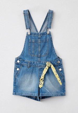 Комбинезон джинсовый Ostin O'stin. Цвет: синий