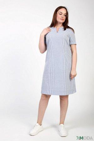 Платье Frank Walder. Цвет: голубой