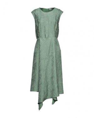 Платье миди BY MALENE BIRGER. Цвет: светло-зеленый