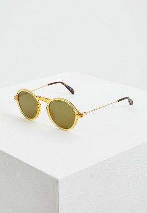 Очки солнцезащитные Givenchy 40G. Цвет: желтый
