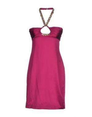 Короткое платье BASIX BLACK LABEL. Цвет: фуксия