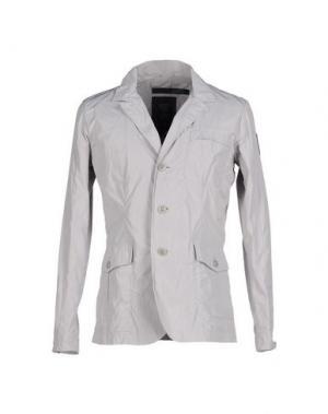 Пиджак BOMBOOGIE. Цвет: светло-серый