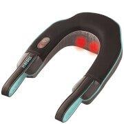 Массажер для шеи и плеч с нагревом Neck and Shoulder Massager with Heat - Black HoMedics