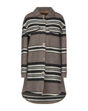 Легкое пальто MALÌPARMI. Цвет: хаки