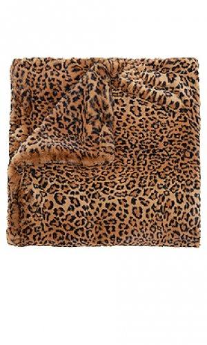 Одеяло brady Apparis. Цвет: коричневый