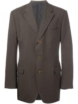 Классический пиджак Romeo Gigli Pre-Owned. Цвет: зеленый