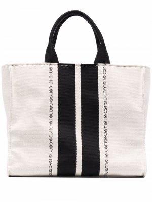 Logo-print tote bag 10 CORSO COMO. Цвет: нейтральные цвета