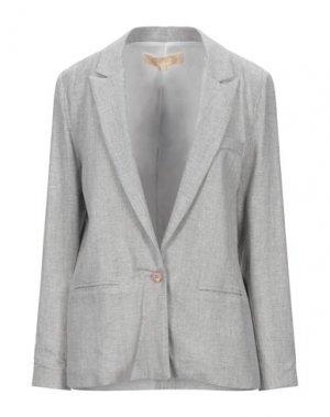 Пиджак BONSUI. Цвет: светло-серый