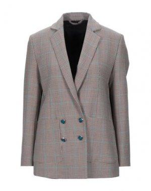 Пиджак PENCE. Цвет: красно-коричневый