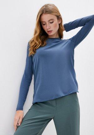Блуза Max Mara Leisure CLARINO. Цвет: синий